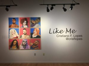 Photo of Gallery Q with Like Me show by Cristiano F. Lopes