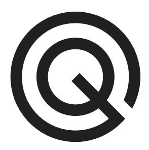 Gallery Q logo in black