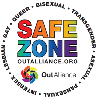 Out Alliance Safe Zone training mark