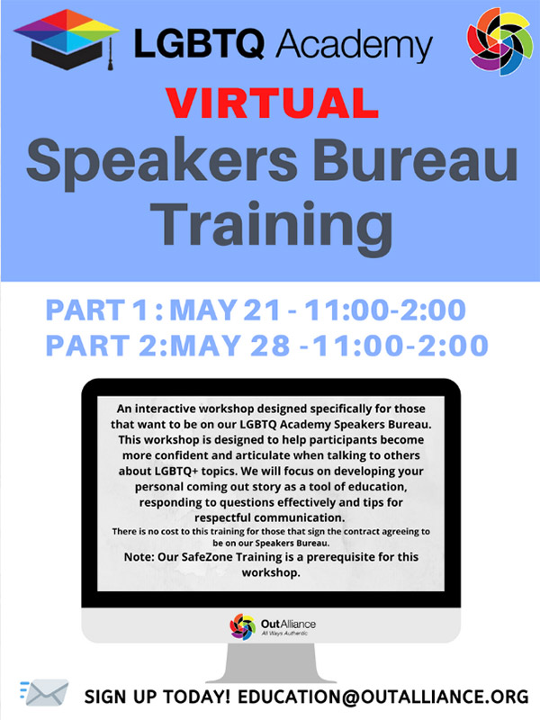 Virtual Speakers Bureau Training